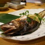 海鮮酒場 海ごはん しまか - どんこの焼き魚・・30cmオーバーのビッグサイズ。
