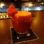 The bar 佐藤 - フルーツカクテル(ストロベリー)