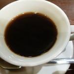 銀座イタリアン ORIGO - 食後にはコーヒーも付きます
