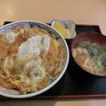白根家 - 料理写真:かつ丼