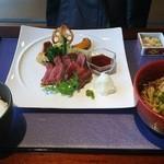 四季彩 ミズノ - 信州牛ステーキ御膳