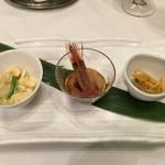Tentsuusaikan - 前菜3種
