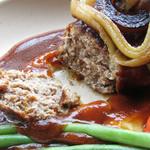 トリトンカフェ - 煮込みハンバーグ