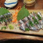 Ohana房 - さんま刺し、炙り〆鯖