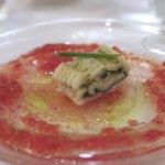 アロマフレスカ - 穴子の香草蒸し、フレッシュトマトの香り