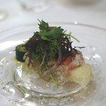 アロマフレスカ - 焼きタラバ蟹のインサラータ