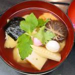 銀座 鹿乃子 - 玉子雑煮