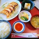 レストラン あさやホテル - 宇都宮肉餃子定食