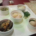 たこ焼き &グリル 大阪バルSPAJIO - 前菜5種盛(1,280円)