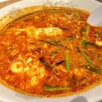 辛麺屋 桝元 - トマト辛麺!