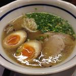 うま馬 - 源流博多ラーメン 煮卵
