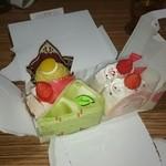 不二家 - 料理写真:定番の不二家のケーキ