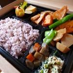 イシノナカ - イシノナカの健康お弁当BOX ¥850~