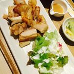 さち福や 天王寺ミオプラザ館店 - 鶏とエリンギの炙り焼き ゆず味噌ソース~♪