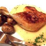 フレンチバール coucou - 鴨もも肉のコンフィ 1250えん