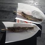 滝元屋 - 料理写真:岩魚の塩焼