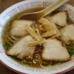 平安食堂 - チャーシュー麺¥630-