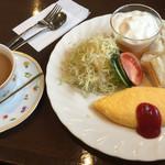 ベル - 1月17日の朝食 モーニングB=600円