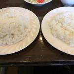 ベル - 左→大盛  +100円 右→普通盛