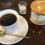ベル - コーヒー付です サイホン仕立て。