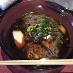 46563925 - 『冷麺(大)』様(785円)別府冷麺様お初なのでこれがデフォなのかは分かりませんがまさに韓国麺!