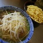 めん屋 桔梗 - 塩つけ麺(普通盛)※もやし変更2016.1.17