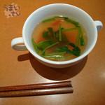 プライム・リブ - ランチ スープ