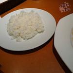 プライム・リブ - 特性スペアリブ レギュラーサイズ 1,730円  サラダ、スープ付き。  ご飯大盛り無料。