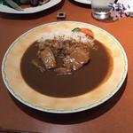 プライム・リブ - 「やわらか豚バラ肉のカレー」 1,080円