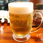 はなさき家 - 生ビール
