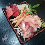お食事処水仙 - 刺し盛り(大)3000円