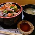 つばさ寿司本店 - ちらし寿司セット