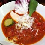 46568170 - シーズン物 イタリアン風トマト麺