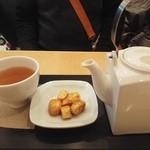 46569820 - 「加賀棒茶」&いちごはん