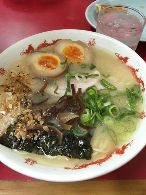 千龍ラーメン - 煮玉子トッピング