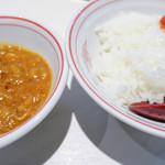 蒙古タンメン中本 - インド定食200円