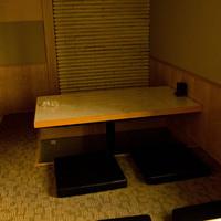 4名様がけ掘りごたつ式小上がり席(×2席)