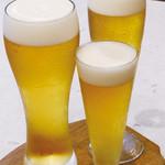 美豚 - 生ビール