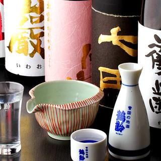 こだわりの純米日本酒