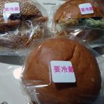 ベーカリーキヨスク - 焼津バーガー3種