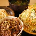 かつ銀 - 料理写真:国産の野菜を使ってるから安心