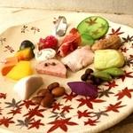 レストラン リュウ - 料理写真:11月の十寸オードブル(2015年)
