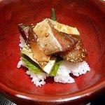 岩永 - 関サバ飯