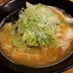 中華そば 響 - あっさり煮干し&ネギトッピング