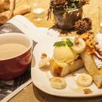 フォレスト - 米粉パンのフレンチトースト
