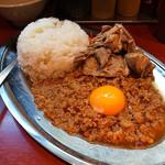 立川マシマシ - マシライス(豚マシ、2015年12月18日)
