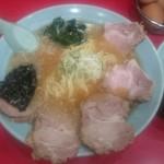 46581526 - 焼豚麺800円、半ライス100円