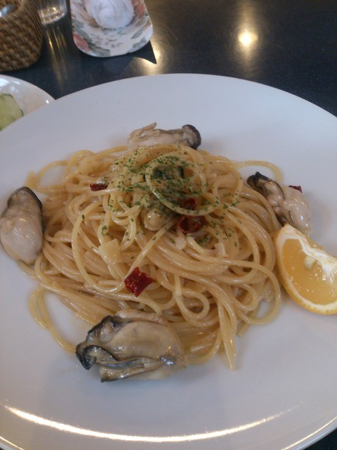 オコタンペコ - 牡蠣のペペロンチーノ