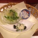 がんこ 池田石橋苑 - 前菜
