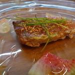 イタリア料理とワイン MARE VIGNA - ☆寒鰤の炙り(#^.^#)☆